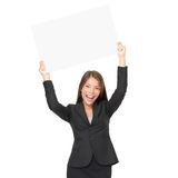 Business woman copy space Royalty Free Stock Photo