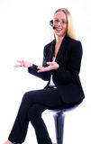 Business Woman - Corporate Spoksewoman Stock Images