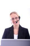 Business Woman - Corporate Spoksewoman Stock Photo