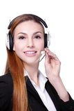 Business Woman customer service worker Stock Images