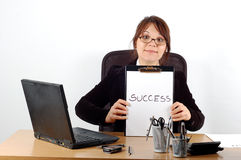 Business woman at desk #16 Stock Photo