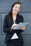 Business woman with digital tablet Stock Image
