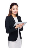 Business woman with digital tablet Royalty Free Stock Photography