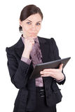 Business woman with digital tablet Royalty Free Stock Image