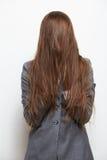 Business woman fashion style  portrait. Female model st Stock Photo