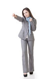 Business woman fighting Royalty Free Stock Image