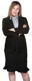 Business Woman With Folded Arms Stock Photography