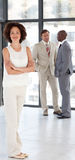 Business woman with Folded arms Business team Stock Images