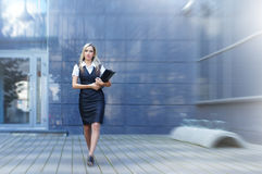Business woman in formal clothes Stock Photography