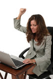 Business Woman Frustrated 1 Royalty Free Stock Photos