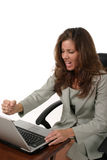 Business Woman Frustrated 3 Royalty Free Stock Photo