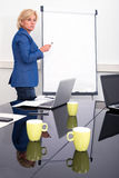 Business woman giving presentation Royalty Free Stock Photography