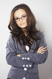 Business woman with glasses Stock Photography