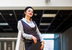 Business woman on a good working day Stock Image