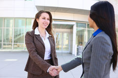 Business Woman Handshake Royalty Free Stock Image