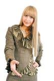 Business woman handshake Royalty Free Stock Photo