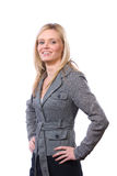 Business woman happy Stock Images