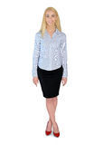 Business woman happy Royalty Free Stock Photo