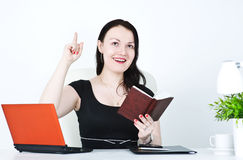 Business woman have the idea Royalty Free Stock Photo