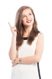 Business woman having a new great ideea Stock Photography