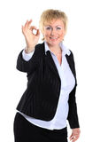 Business woman in her 40s. Royalty Free Stock Photography