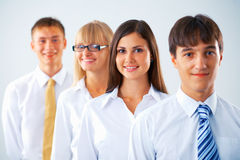 Business woman with her colleagues Royalty Free Stock Photography