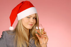 Business woman & holiday Royalty Free Stock Photo