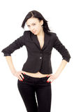 Business Woman In Suit Stock Photo
