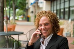 Free Business Woman In The City 6 Stock Photo - 2838410
