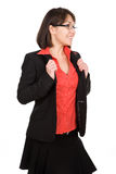 Business woman isolated Royalty Free Stock Image
