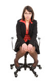 Business woman isolated Stock Photography