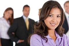 Business woman isolated Stock Image