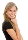 Business woman isolated Royalty Free Stock Photography