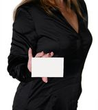 Business Woman Isolated on WhiteBusiness Woman Isolated on Whit Royalty Free Stock Photo