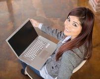 Business woman laptop Royalty Free Stock Photos
