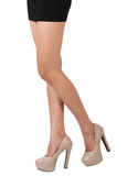 Business woman leg Stock Photo