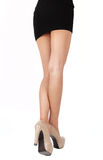 Business woman leg Stock Images