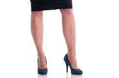 Business woman legs Royalty Free Stock Image