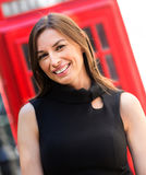 Business woman in London Royalty Free Stock Photography
