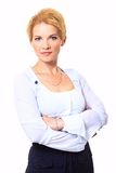 Business woman looking Royalty Free Stock Photo