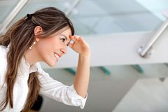 Business woman looking away Stock Photography