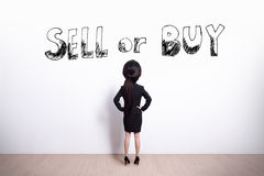 Business woman looking Royalty Free Stock Photography