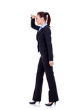 Business woman looking forward Stock Photography