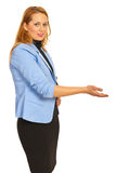 Business woman making presentation Stock Photos