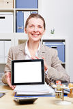 Business woman making presentation Royalty Free Stock Photography