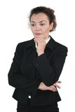 Business woman - Melancholic Type Stock Image