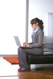 Business woman modern office Stock Image