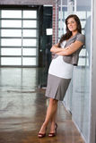 Business woman in a modern office Stock Photography