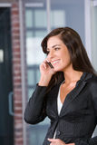 Business woman in a modern office Royalty Free Stock Images
