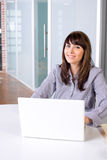 Business woman in modern office Royalty Free Stock Photography